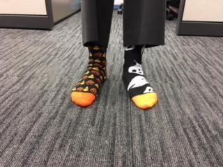 Crazy Socks Help Raise Awareness